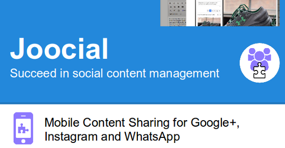 Mobile Content Sharing for Instagram, WhatsApp and VKontakte