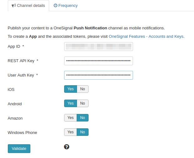 Plugins: System - Joocial Push - OneSignal