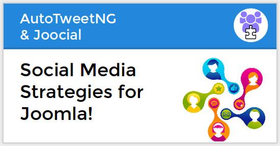 Social Media Strategies for Joomla!