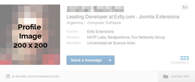 LinkedIn Profile Image