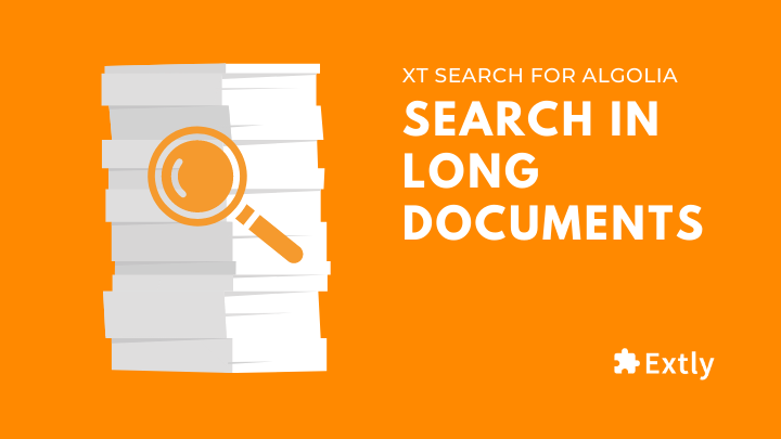 Search in long documents