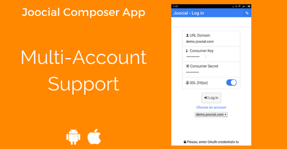 JComposer App Multi Account