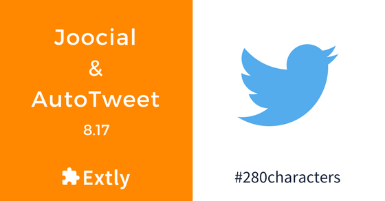 Support of Twitter's 280 Limit and Facebook's Domain Verification