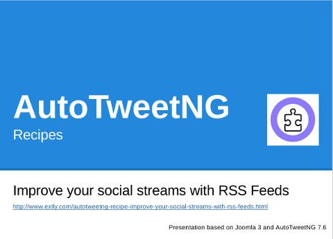 AutoTweetNG Recipe Improve your social streams2