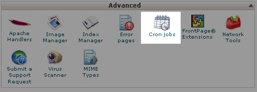 To add a new CronJob in cPanel