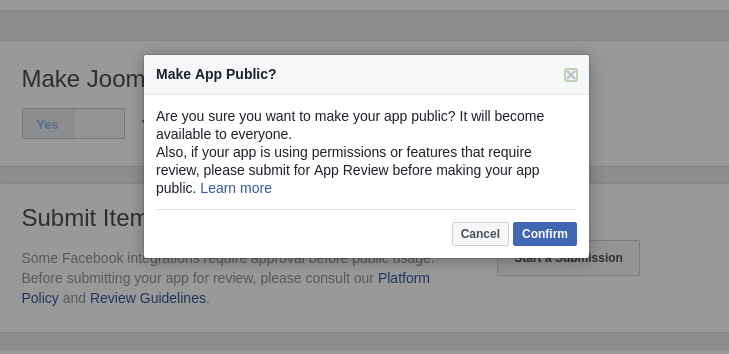 An App Review Study Case - Submit your App Review - Settings