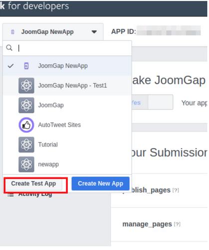 STEP 2.1: Test App