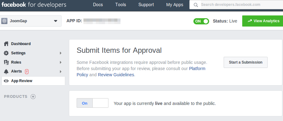 An App Review Study Case - Submit your App Review - Start a Submission
