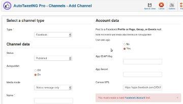 AutoTweetNG Pro-Channels-Add Channel-360