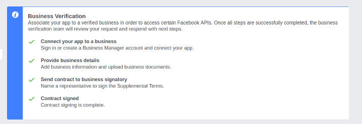 Business Verification - Step 5