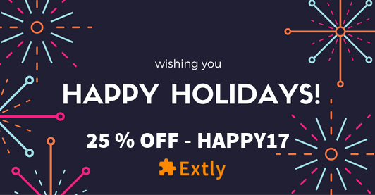 Happy Holidays 2017 Extly Newsletter