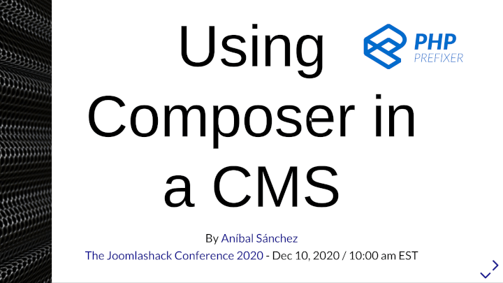 Using Composer in a Content Management System