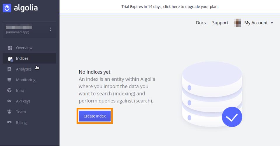 Algolia Indices