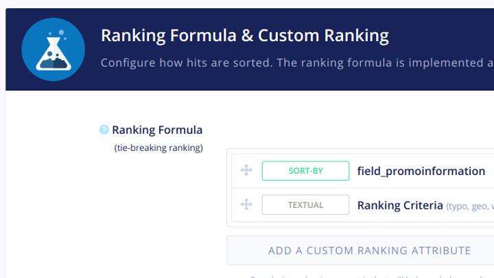Algolia Ranking