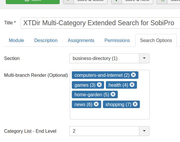 XTDir Multi-branch Render